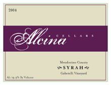 Alcina Cellars- Syrah