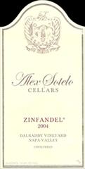 Alex Sotelo Cellars Zinfandel 2003