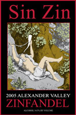 Alexander Valley Vineyards Wine-Sin Zin