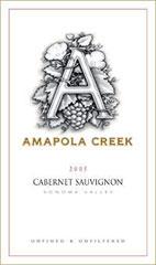 Amapola Creek-Cabernet Sauvignon