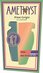 Amethyst Wines-Pinot Grigio