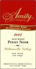 Amity Vineyards - EcoWine