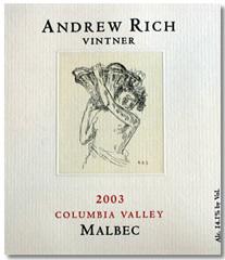 Andrew Rich Wines-Malbec