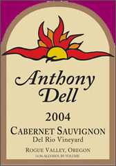 Anthony Dell Cellars-Cabernet Sauvignon