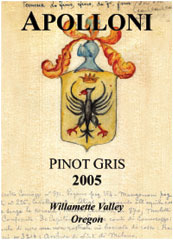 Apolloni Vineyards-Pinot Gris