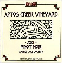 Aptos Vineyard - Santa Cruz Mountains
