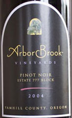 ArborBrook Vineyards-Pinot Noir