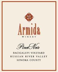 Armida Wine-Pinot Noir