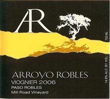 Arroyo Robles-Viognier