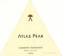 Atlas Peak Napa Cabernet