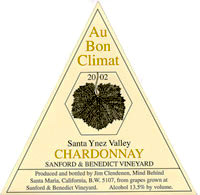 Au Bon Climat Wine - Chardonnay Sanford and Benedict Vineyards