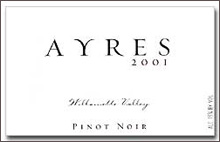 Ayres Vineyard and Winery-Pinot Noir