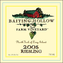 Baiting Hollow Farm Vineyard-Riesling