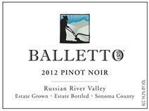 Balletto Vineyards-Pinot Noir