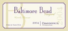 Baltimore Bend Vineyard-Chambourcin