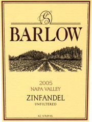 Barlow Napa Valley Zinfandel