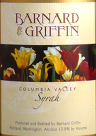 Barnard Griffin Winery-Syrah