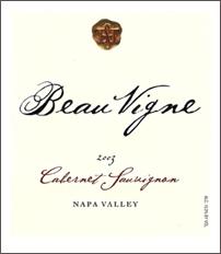 Beau Vigne-Cabernet Sauvignon