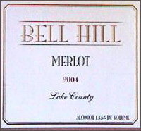 Bell Hill Vineyards-Merlot