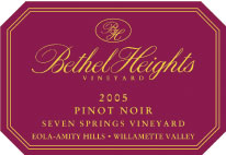 Bethel Heights Vineyard-Pinot Noir