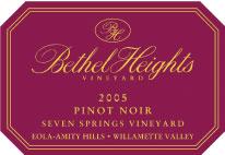 Bethel Heights Vineyard-Pinot Noir