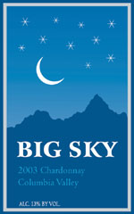 Big Sky Wines-Chardonnay