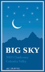 Big Sky Wines-Chardonnay