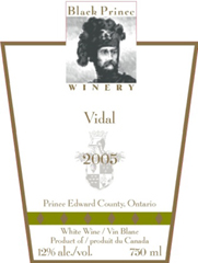 Black Prince Winery-Vidal