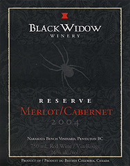 Black Widow Merlot-Cabernet