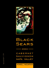Black Sears Winery-Cabernet Sauvignon