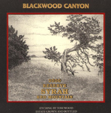 Blackwood Canyon Vintners -Syrah
