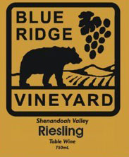 Blue Ridge Vineyard-Riesling