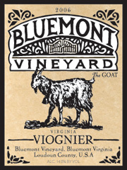 Bluemont Vineyard-Viognier