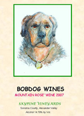 BobDog Winery-Mountain Rose