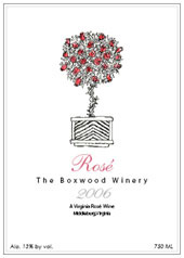 The Boxwood Winery-Rose