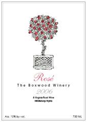 The Boxwood Winery-Rose