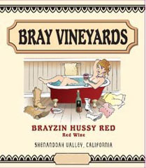 Bray Vineyards-Brayzin Hussy Red