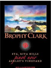 Brophy Clark Cellars-Pinot Noir
