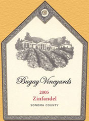 Bugay Wines and Vineyards-Zinfandel