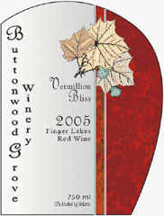 Buttonwood Grove Winery-Vermillion Bliss