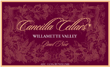Cancilla Cellars - Pinot Noir