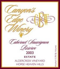 Canyon&#39s Edge Winery-Cabernet Sauvignon