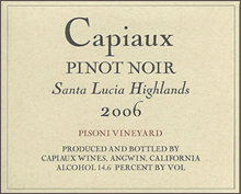 Capiaux Cellars-Pinot Noir
