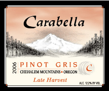 Carabella Vineyard Late Harvest Pinot Gris