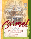 Wines of Carmel-Pinot Noir
