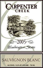 Carpenter Creek Winery-Sauvignon Blanc