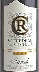 Cathedral Ridge Winery Syrah