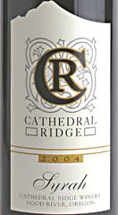 Cathedral Ridge Winery Syrah