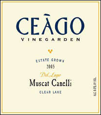 Ceago Vinegarden Clear Lake Muscat