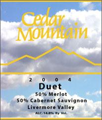 Cedar Mountain Duet